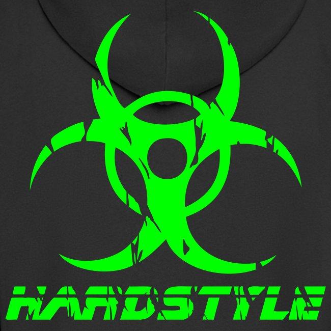 Hardstyle Biohazard - Neongrön