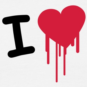 i_love_graffiti T-shirts - Herre-T-shirt