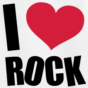 I Love Rock Tee shirts Enfants - T-shirt Enfant