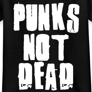Punks Not Dead Kids' Shirts - Kids' T-Shirt