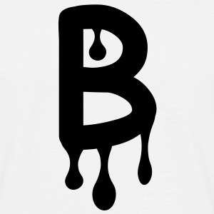 b_comic_graffiti T-Shirts - Men's T-Shirt