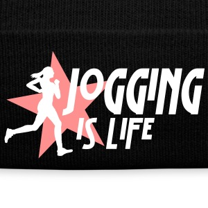 jogging is life female with star i 2c Caps & luer - Vinterlue