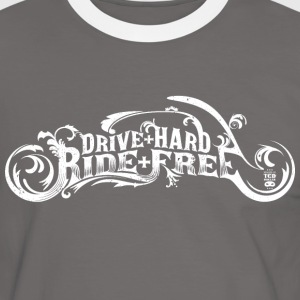 Drive Hard - T-shirt contraste Homme
