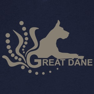 Great Dane 3f r T-Shirts - Men's V-Neck T-Shirt
