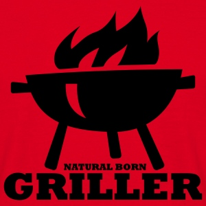 NATURAL BORN GRILLER - T-Shirt für Grillprofis - Men's T-Shirt