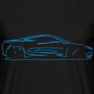 Car Sketch - Men's T-Shirt