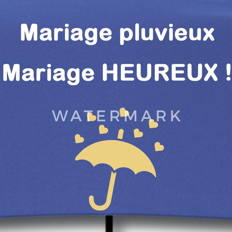 parapluie mariage pluvieux mariage heureux parapluie standard - Parapluie Mariage Pluvieux Mariage Heureux