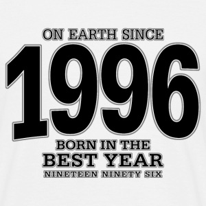 On Earth since 1996 (black) - Männer T-Shirt