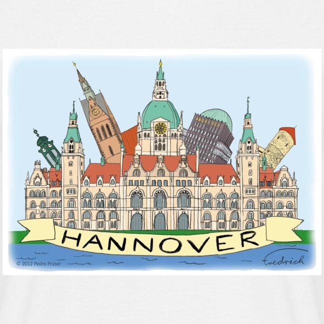 Hannover Souvenir Comic Sommer T-Shirt