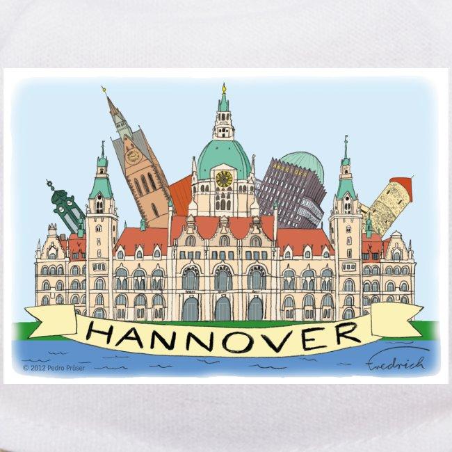 Hannover Souvenir Comic Sommer Liebhab-Bär