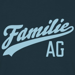Familie AG T-Shirts - Herre-T-shirt