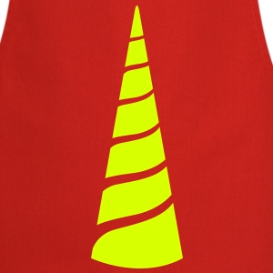 a single one colour unicorn horn  Aprons - Cooking Apron