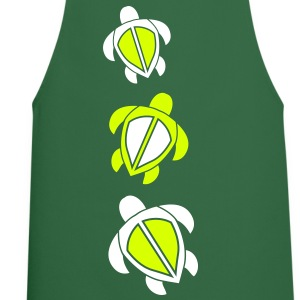 three swimming turtles design  Aprons - Cooking Apron