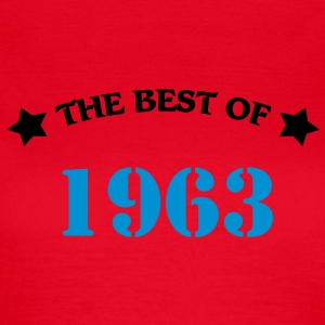 The best of 1963 Camisetas - Camiseta mujer