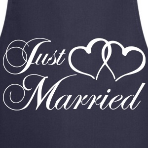 just_married_coeur Tabliers - Tablier de cuisine
