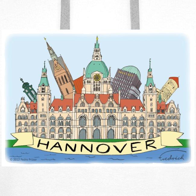 Hannover Souvenir Comic Sommer Kaputzenpullover #Hannover #Souvenir