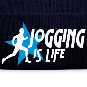jogging is life male with star i 2c Caps & luer - Vinterlue