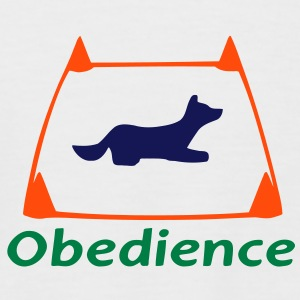 Obedience 1 T-Shirts - Men's Baseball T-Shirt
