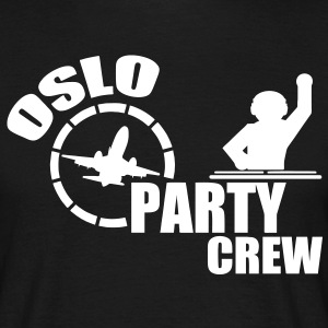 oslo party crew T-Shirts - Männer T-Shirt