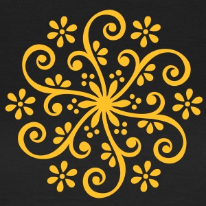 Flower Mandala Mehndi Ornament Designs In Bloom T-Shirts - Women's T-Shirt