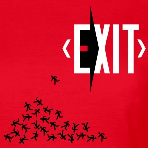 exit (transparent door version) T-Shirts - Women's T-Shirt