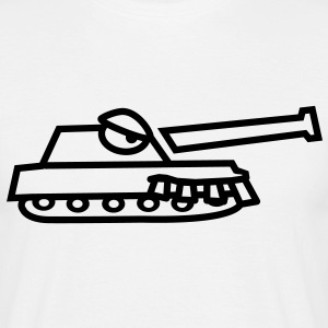 tank_monster T-shirts - Mannen T-shirt