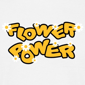 flower_power T-shirts - T-shirt herr