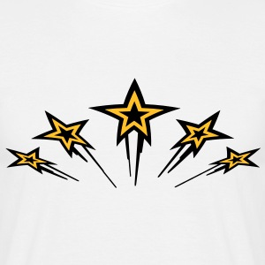 flying_stars T-shirts - Herre-T-shirt