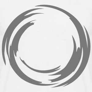 swirl_circle T-Shirts - Men's T-Shirt