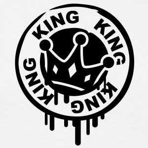king_crown_stamp T-Shirts - Men's T-Shirt