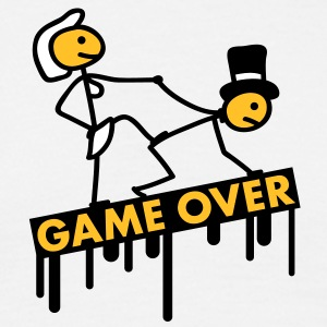 bachelor_party_game_over T-skjorter - T-skjorte for menn
