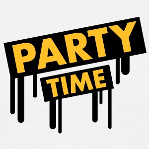 party_time_graffiti T-shirts - T-shirt herr