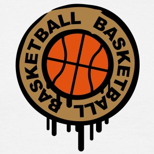 basketball_stamp Tee shirts - T-shirt Homme