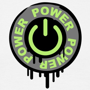 power_stamp T-shirts - Herre-T-shirt