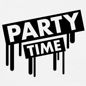 party_time_graffiti T-skjorter - T-skjorte for menn
