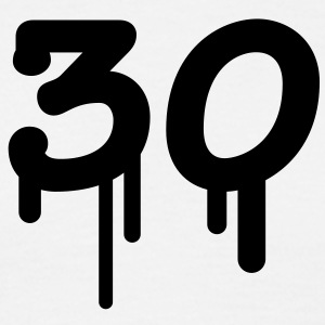 30_graffiti T-shirts - Herre-T-shirt