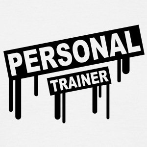 personal_trainer_graffiti T-skjorter - T-skjorte for menn