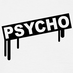 psycho_graffiti T-shirts - Herre-T-shirt