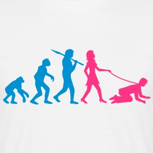 woman_evolution T-shirts - Herre-T-shirt