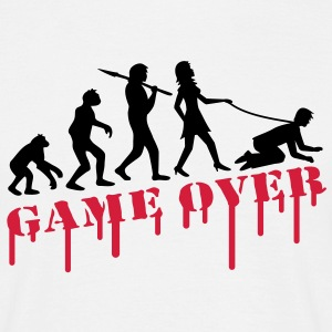 game_over_bachelor_party T-Shirts - Men's T-Shirt