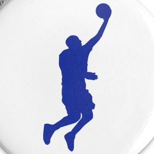 Basketball Player (layup) (Vector) - Buttons klein 25 mm
