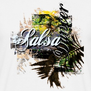 Salsa your live T-Shirt - Mannen T-shirt