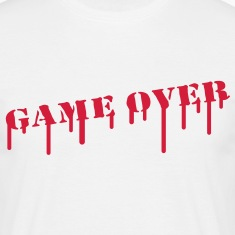 game_over_paint T-shirts