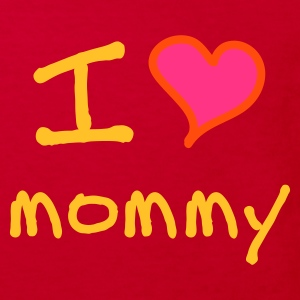I love mommy - Kinder Bio-T-Shirt