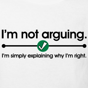 Not Arguing Tee shirts Enfants - T-shirt Bio Enfant