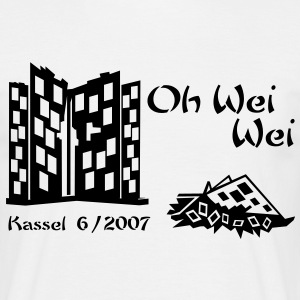 Documenta 12 Shirt ,, Oh Wei Wei ,, - Männer T-Shirt