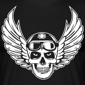 Flying Skull - Men's T-Shirt