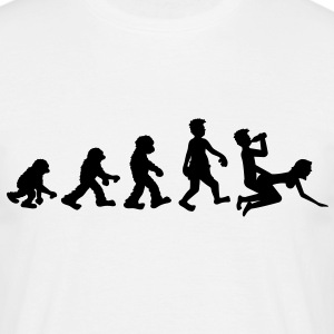 evolution_of_fun T-Shirts - Men's T-Shirt