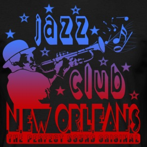 jazz club new orleans the perfect sound original Tee shirts - T-shirt Homme