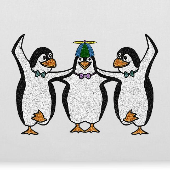 Penguin Trio Tote Bag